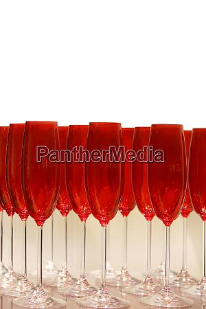 rotes glas