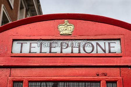 red london telefonzelle