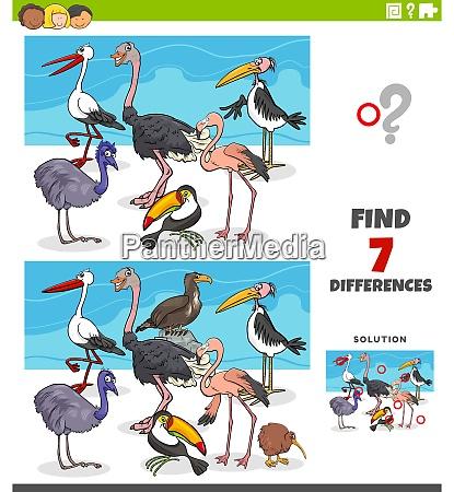 unterschiede paedagogisches spiel mit vogeltieren