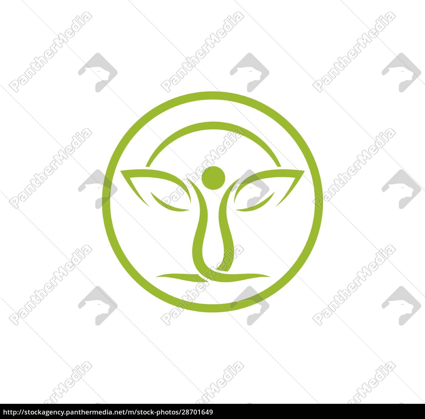 gesundes, leben, menschen, medizinische, logo-vorlage, vektor - 28701649