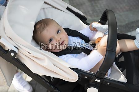 nahaufnahme von niedlichen baby junge im