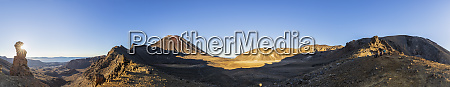 neuseeland nordinsel panorama des mount ngauruhoe