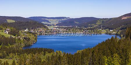 deutschland baden wuerttemberg titisee neustadt panorama