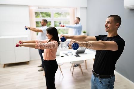 office wellness UEbungen