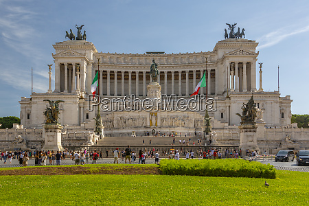 view of vittoriano national monument vittorio