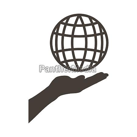 earth day emblem