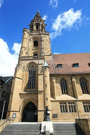 kilianskirche ist ein anblick der stadt