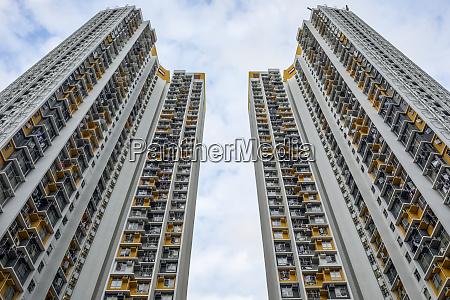 hochhaeuser wohntuerme hongkong china