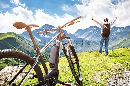 mountainbike in OEsterreich