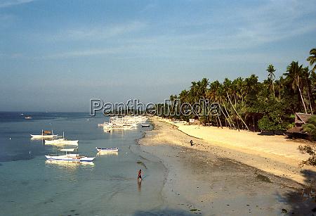 strand der christal coast in panglao