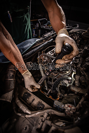 reparatur des motors