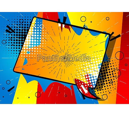 cartoon design farbigen hintergrund mit farbigen