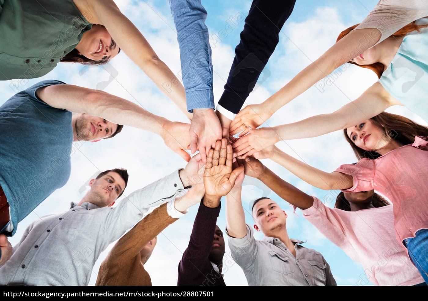 team, spirit, business, huddle., people, diversity - 28807501