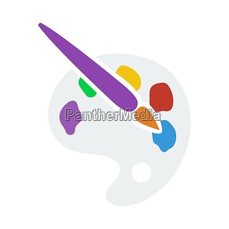 palette spielzeug symbol