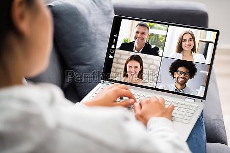 video conference work webinar online