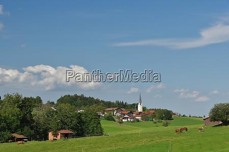 greimharting chiemgau chiemsee oberbayern deutschland