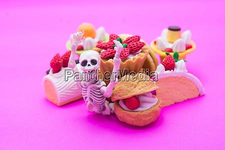 skelett und baeckerei geniessen essen bis
