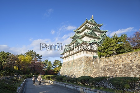 nagoya castle nagoya honshu japan asien