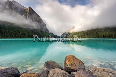 lake louise banff nationalpark unesco weltkulturerbe