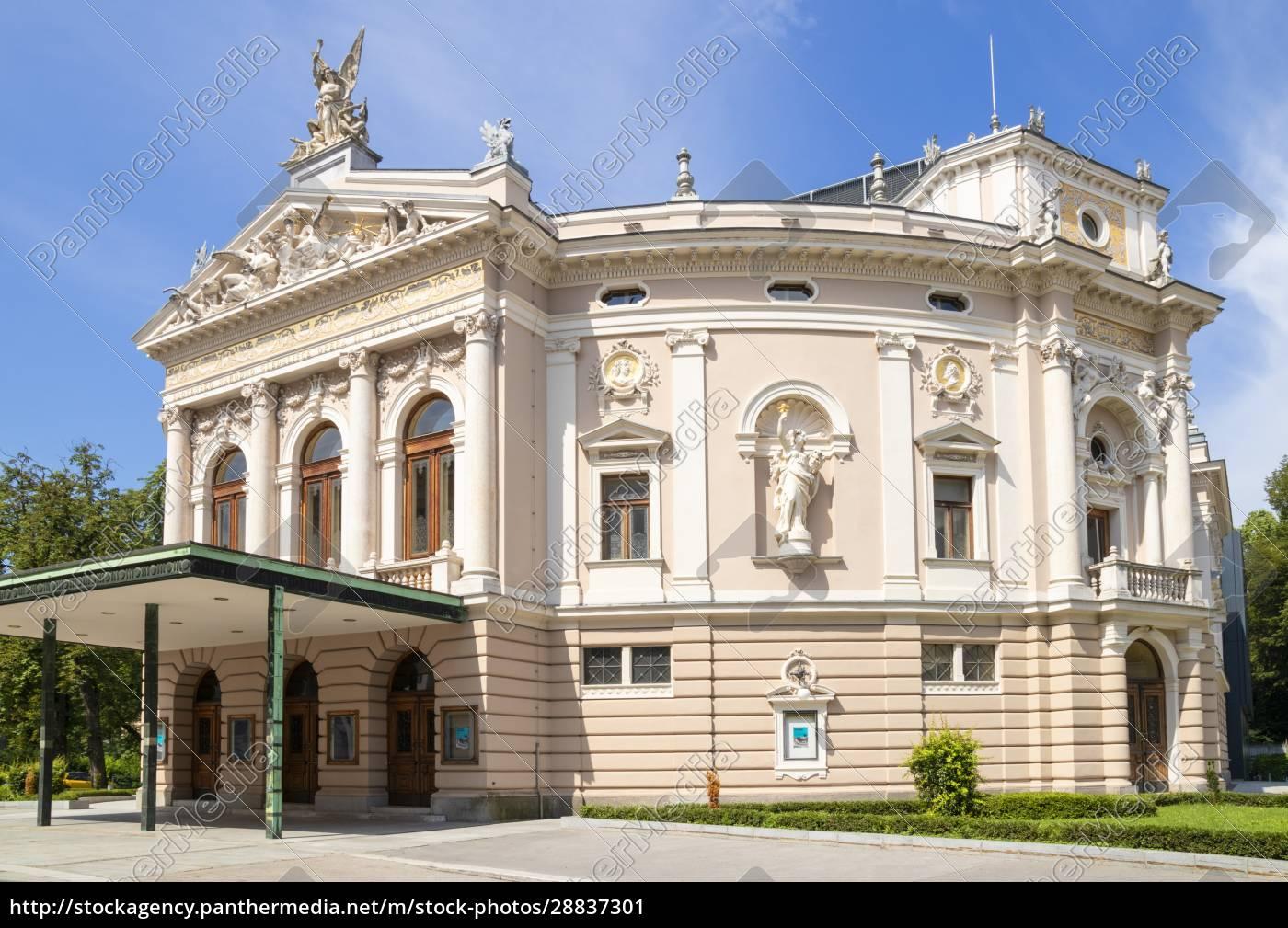 opernhaus, ljubljana, (slowenische, nationaloper, und, balletttheater - 28837301