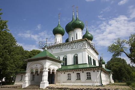 feodorowski kathedrale unesco weltkulturerbe jaroslawl goldener