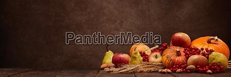 thanksgiving extra breite panorama banner hintergrund
