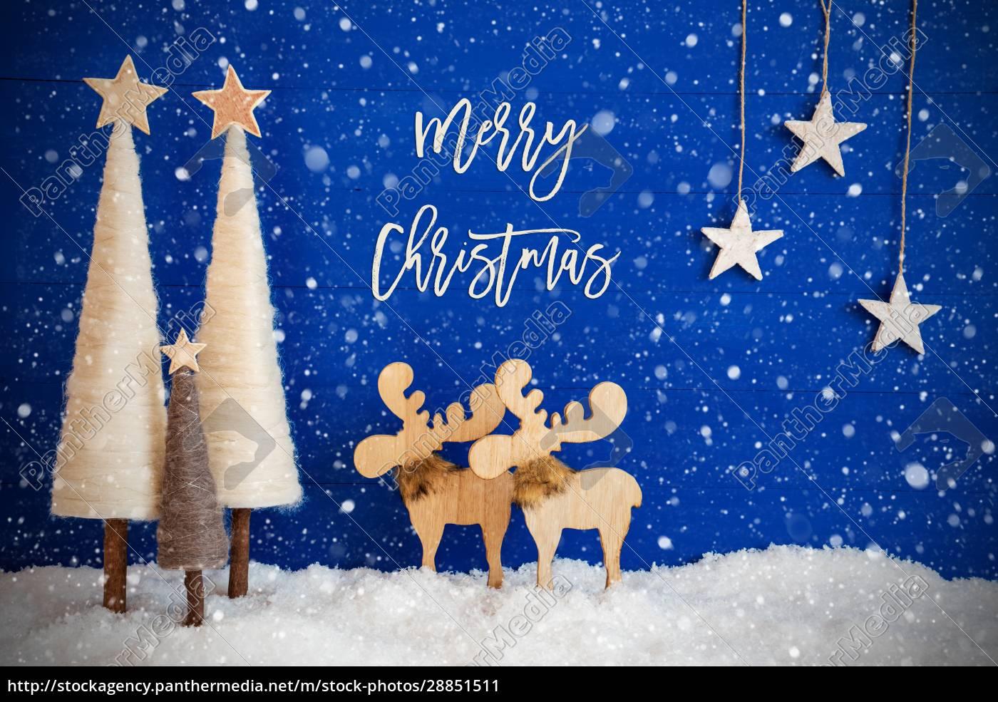 weihnachtsbaum, elch, schnee, stern, text, frohe, weihnachten, schneeflocken - 28851511
