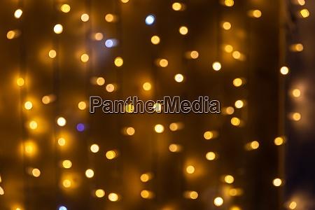 defokussiert ausgewaehlte weihnachtliche glitzerlichter