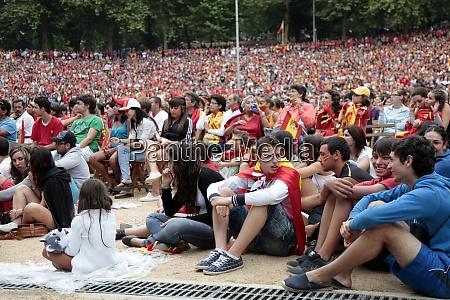 vigo spanien 11 juli spanische