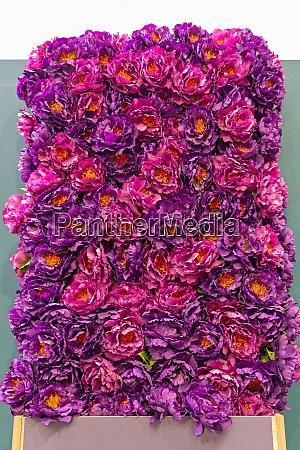 purple flowers wand
