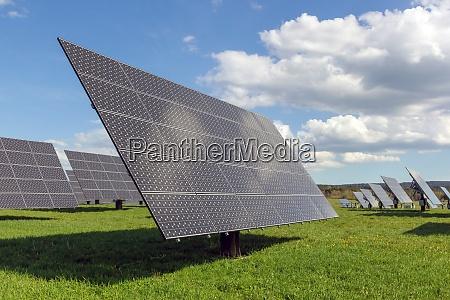 solarkraftwerkspaneele
