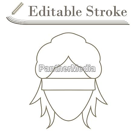 femida kopf ikone