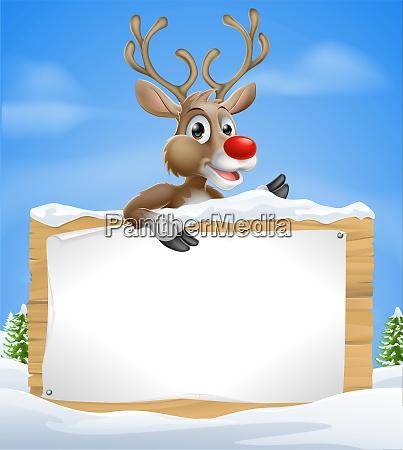 weihnachten cartoon redeszeichen