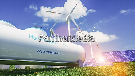 wasserstoff erneuerbare energieerzeugung wasserstoffgas fuer