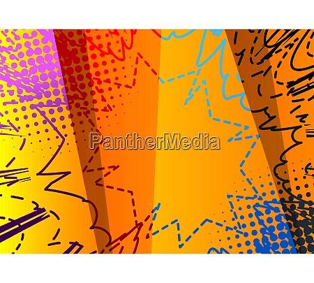 comic buch abstrakte schmutzige farbige hintergrund