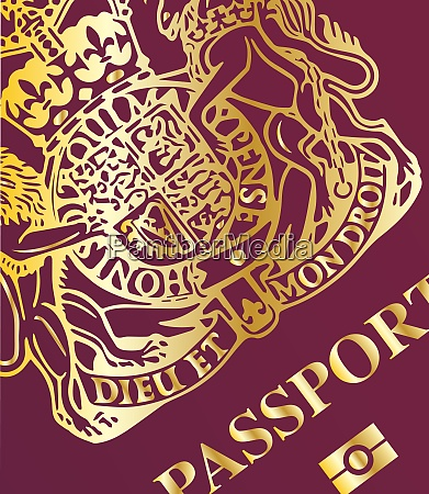 passport closeup