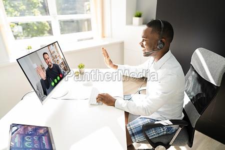 teilnahme an video telefonkonferenz