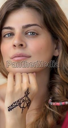 schoene maedchen portrait