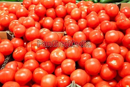 schachteln mit tomaten im supermarkt gesundeernaehrung