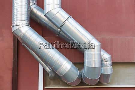 lueftungskanaele von klimaanlagen und lueftungsanlagen an