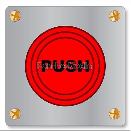 der button