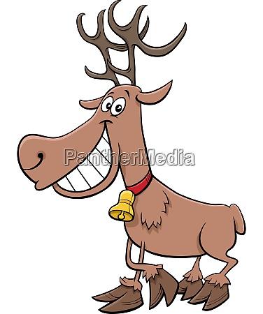 cartoon reder weihnachts urlaub charakter