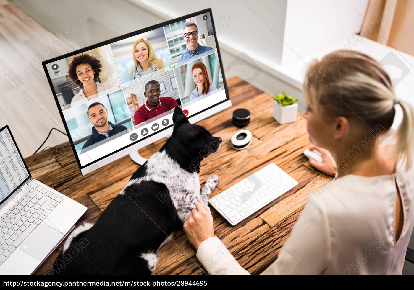 online-videokonferenz - 28944695
