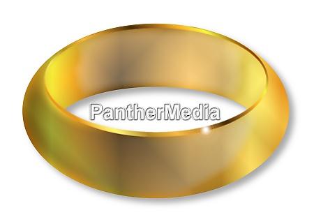 heller goldener ring