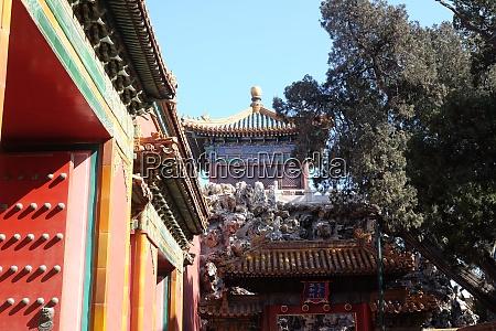 kaiserpalast verbotene stadt peking china