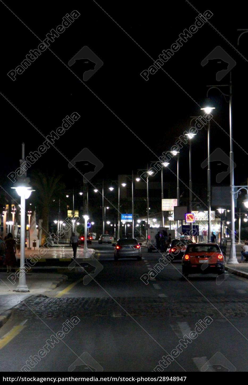 view, of, night, street, of, hurghada - 28948947
