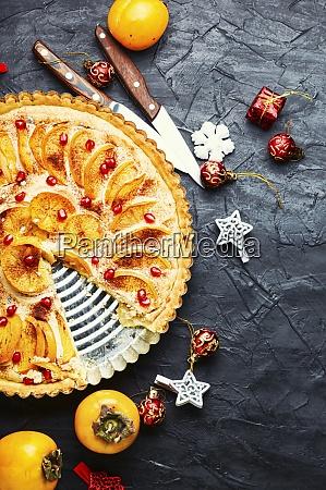 weihnachten, persimmon, kuchen - 28955638