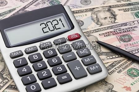 taschenrechner mit geld 2021