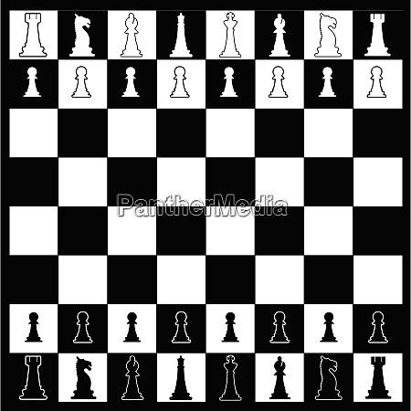 schachbrett layout