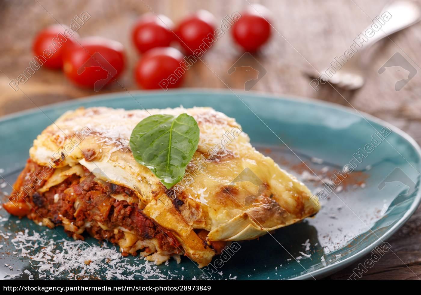 italienische, lasagne - 28973849